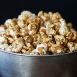 No-Bake Salted Caramel Popcorn