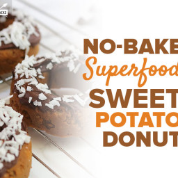 No-Bake Superfood Sweet Potato Donut