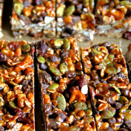 No Bake Sweet and Salty Snack Bars