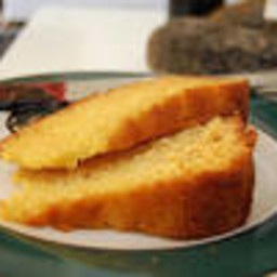 No Bake Vanilla Protein Cake