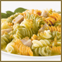 No-Bake Rotini, Ham and Cheese