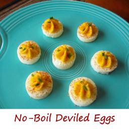 No-Boil Deviled Eggs