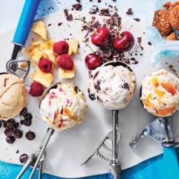 No-churn ice cream 4 ways