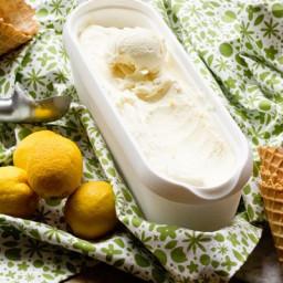 No Churn Lemon Ice Cream
