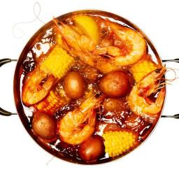 No-Frills Shrimp Boil