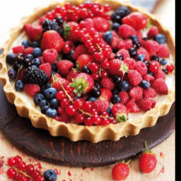 No Fuss Fruit Tart