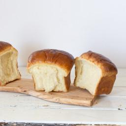 No Knead Hokkaido Milk Bread