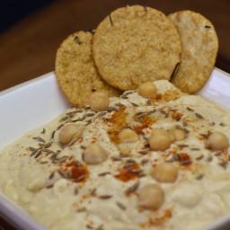 No Oil Hummus Recipe