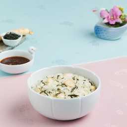 NokCha-Insam-Bab  / Ginseng Rice Soup