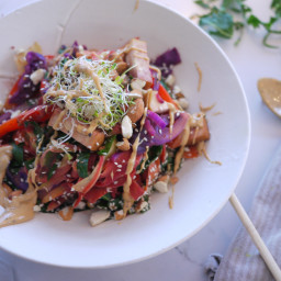 Noodle-less Plant Based Pad Thai
