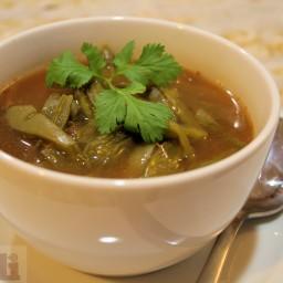 Nopal Cactus Soup (Molli Morelos)
