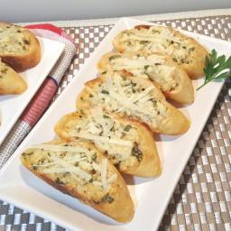 Nordstrom's Parmesan-Garlic Crostini