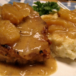 Normandy Pork with Cream and Apples