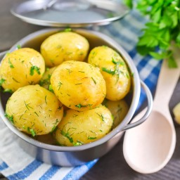 North Croatian boiled potatoes