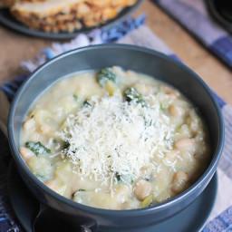 Northern Bean Cauliflower Soup