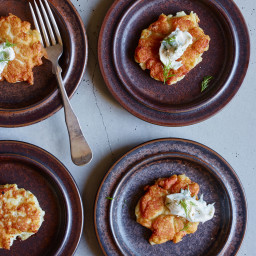 Norwegian Fish Cakes with Dill Mayonnaise