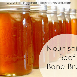 Nourishing Beef Bone Broth