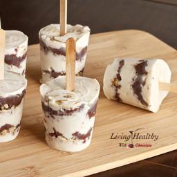 Nutella Ice Cream Pops (dairy, gluten, refined sugar free)