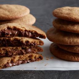 Nutella-Stuffed Cookies