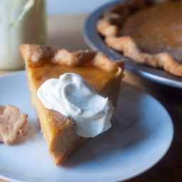 Nutmeg Maple Cream Pie