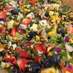 Nutmeg Salad Batch Prep