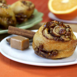 Nutty Caramel-Coated Sticky Buns