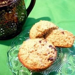 Oat Bran and Raisin Muffins