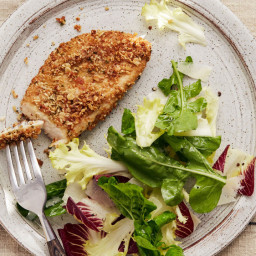Oat-Crusted Chicken Cutlets