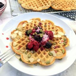 Oat Waffles (Gluten-Free)
