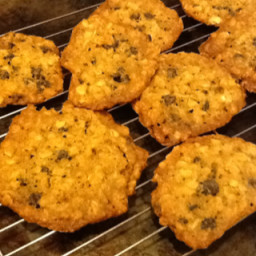 Oatmeal Chocolate Chip or Raisin Cookies