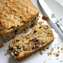 Oatmeal Chocolate Chip Quick Bread