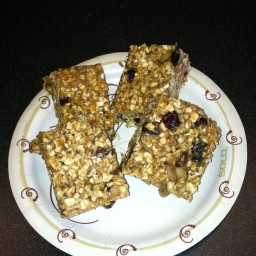 Oatmeal Peanut Butter Protein Bar