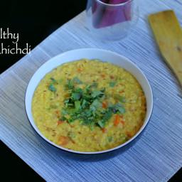 oats khichdi recipe | easy and healthy oats khichdi recipe