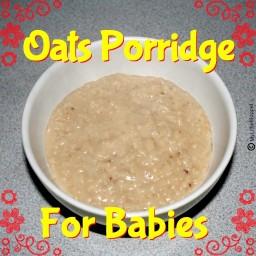 Oats Porridge for Babies