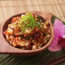 Octopus Poke With Kimchi Recipe