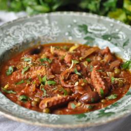 Octopus Stew - Stuffat tal-qarnit