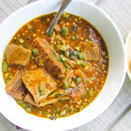 Ogbono Soup(boiling method)