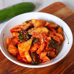 Oi Muchim Korean Cucumber Salad Recipe and Video