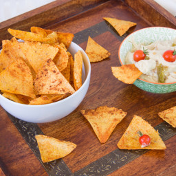 Oil Free Chili Lime Spiked Corn Chips