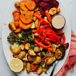 Oil-Free Roasted Vegetables