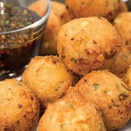 Okra and Corn Fritters
