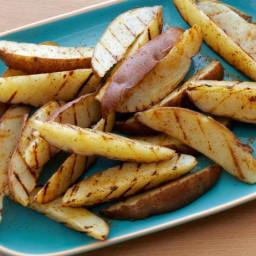Old Bay Grilled Steak Fries