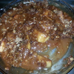 Old-Fashioned Apple Crisp