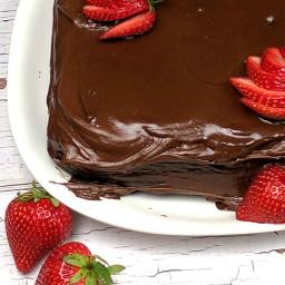 Old Fashioned Chocolate Mayonnaise Cake Recipe