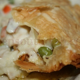 Old-Fashioned Double-Crust Chicken Pot Pie