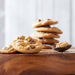 Old-Fashioned Peanut Butter Chocolate Chip Cookies