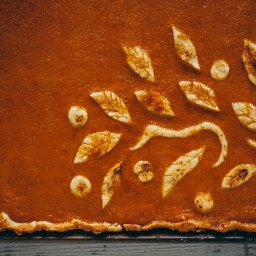 Old Fashioned Pumpkin Slab Pie
