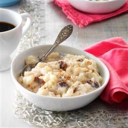 Old-Fashioned Rice Pudding Recipe