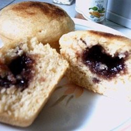 Old-Fashioned Sally Lunn Muffins