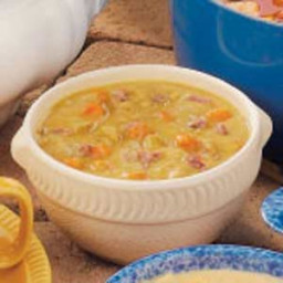 Old-Fashioned Split Pea Soup with Ham Bone Recipe